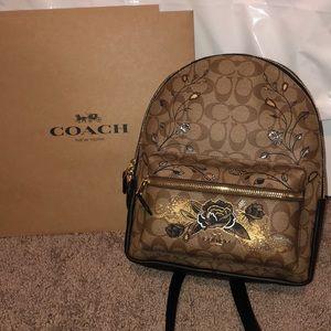 COACH Chelsea Charlie Backpack in Signature Canvas